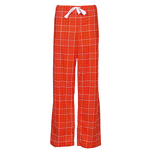 Plaid Brushed Cotton Pyjama Trousers