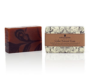Cedar Handmade Natural Soap - bathroom