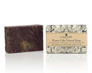 Honey Cake Natural Handmade Soap - bathroom