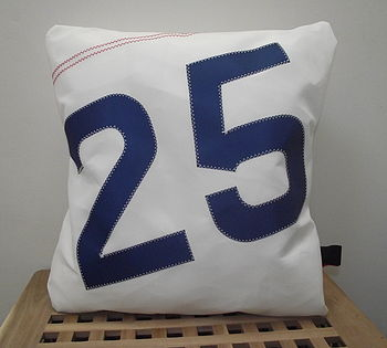 Personalised Numbers Or Initials Cushion