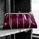 Chantry Italian Leather Clutch Bag