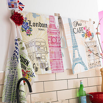 City Tea Towels Theme