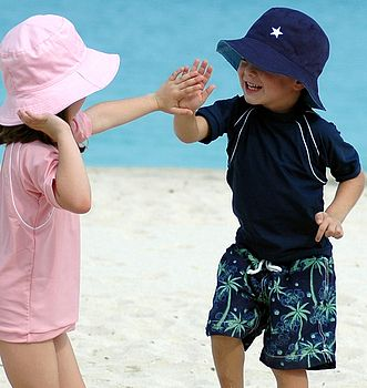 Child's Reversible Sun Hat