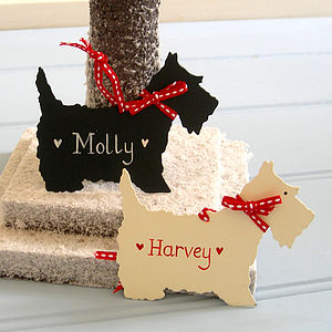 Scottie Dog Tag - cards & wrap