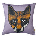 Fox Head Cushion