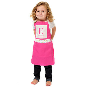 Kids Personalised Alphabet Apron - toys & games