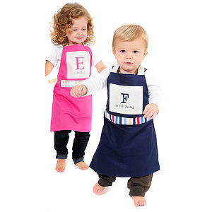 Kids Personalised Name Apron