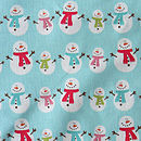 Snowmen Brushed Cotton Pyjama Trousers