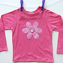 Girls Applique T-Shirt