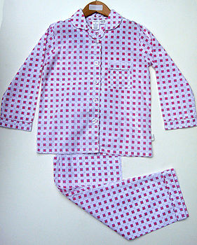 Girls Printed Cotton PJs