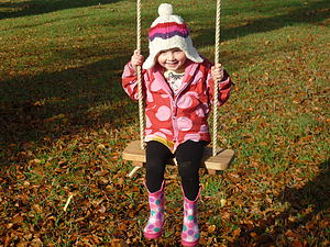 Child's Rope Swing - outdoor toys & games