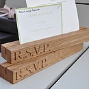 Oak Invitation RSVP Organiser
