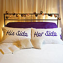 His Side/Her Side
