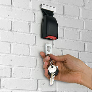 Buckle Up Wall Mounted Key Holder - storage & organisers