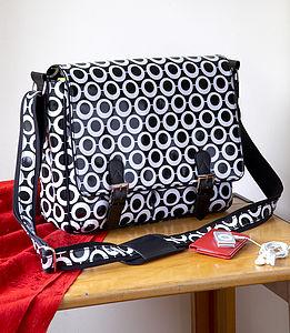 Mono Hoops Satchel - shoulder bags