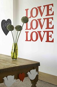 Big Love - wall stickers