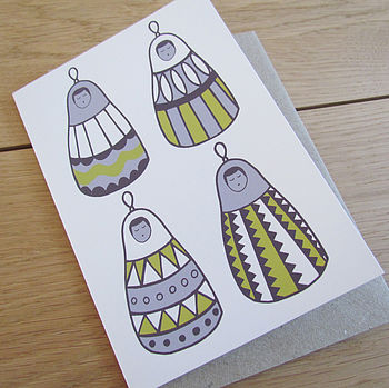 'Babushka Dolls' Card