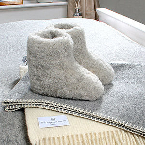 Adult's Merino Sheep Wool Booties - view all gifts for her
