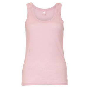 Cotton Pyjama Vest Top