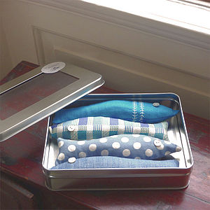 Tin Of Lavender Sardines - decorative accessories