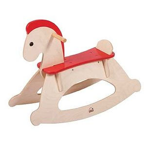 Ed Wooden Rocking Horse - children's furniture