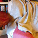 Extra Fine Merino Herringbone Throw
