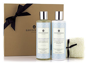 French Lavender Shower Collection - bathroom