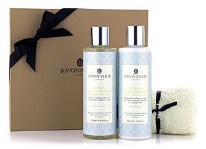 Sicilian Orange Blossom Shower Collection - organic bath & body