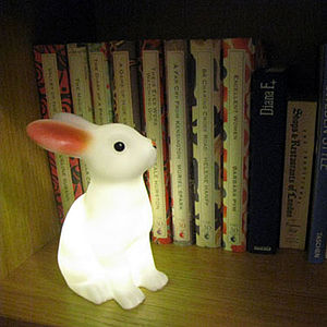 Rabbit Night Light - children's room