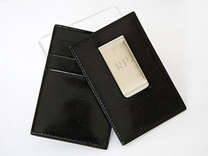 Wallet With Money Clip - wallets & money clips