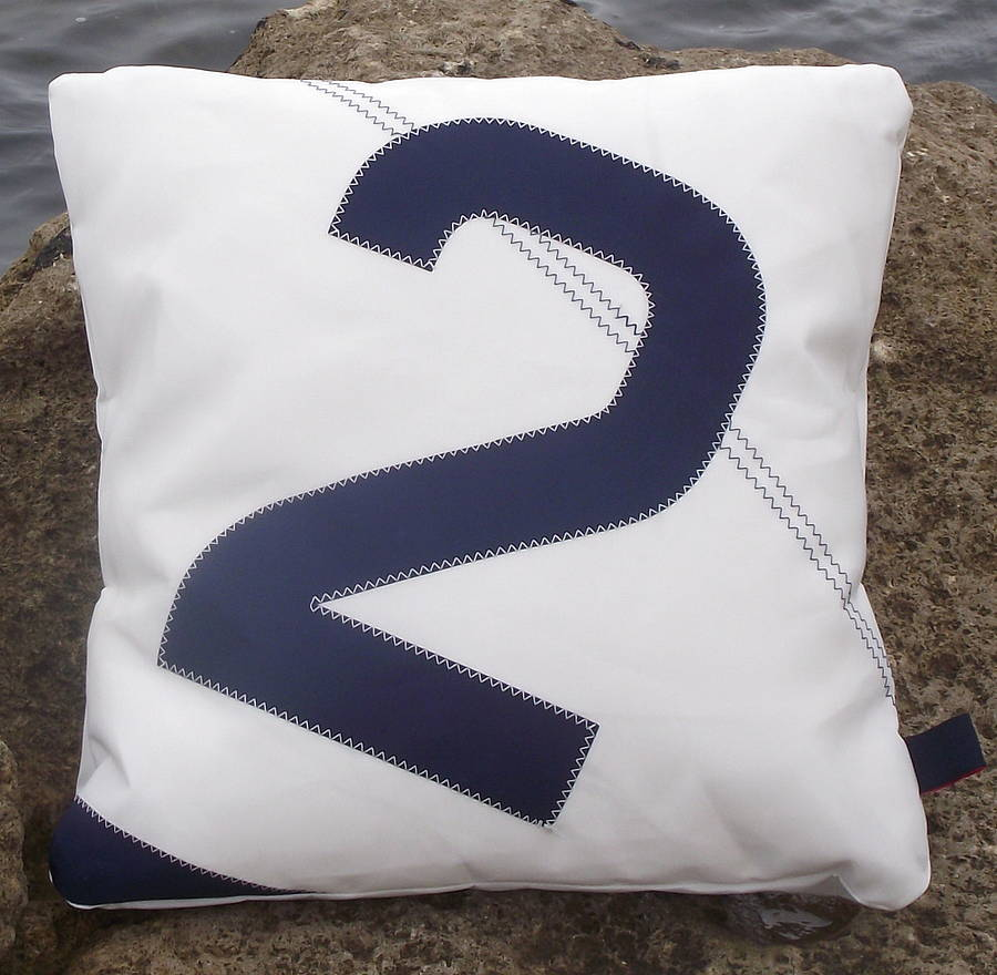 Personalised Sail Number/Letter Cushions