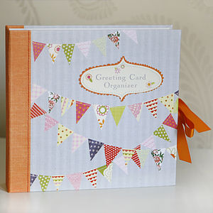 Greeting Card Organiser - stationery
