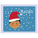 Personalised Christmas Face Placemat