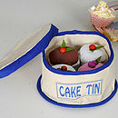 Fair Trade Cupcakes Play Set