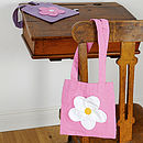 Fair Trade Daisy Mini Shopping Bag