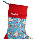 Personalised Retro Fun Christmas Stocking