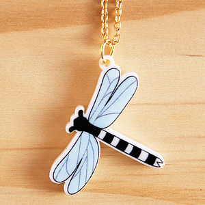 Dragonfly Charm Necklace - necklaces & pendants