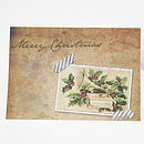 Vintage Christmas Card Set