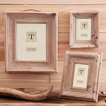 Natural Wood Photo Frames