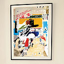 'Arles Decollage' Limited Edition Print