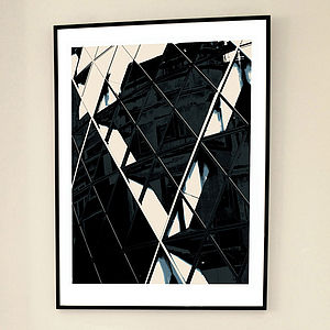 'Gherkin Closer' Limited Edition Print - limited edition art
