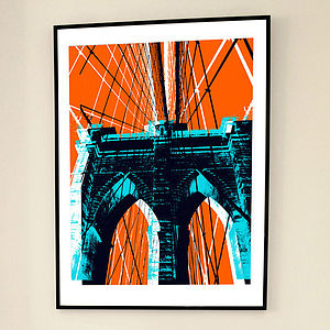 'Last Exit NY' Limited Edition Print - original art under £100