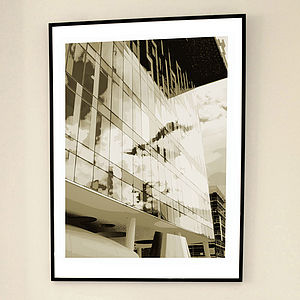 'Palestra London Two' Limited Edition Print - architecture & buildings