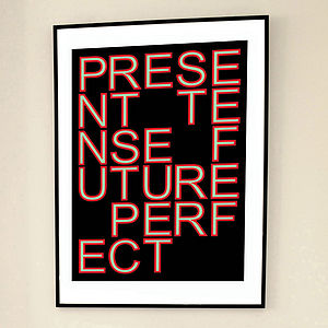 'Future Perfect' Limited Edition Print - contemporary art
