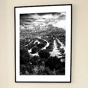 'Provencal Landscape' Limited Edition Print - contemporary art