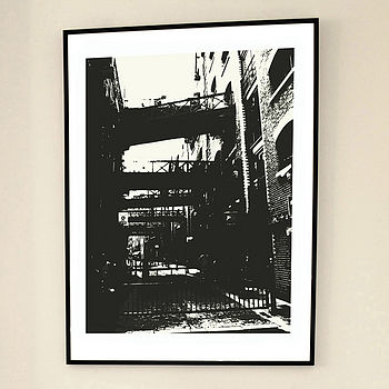 'Shad Thames Two' Limited Edition Print