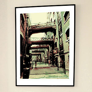 'Shad Thames One' Limited Edition Print - graphic art prints