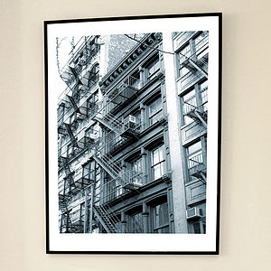 'Soho Escapes NY' Limited Edition Print - architecture & buildings