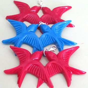Retro Kitsch Clip On Pendant Charms