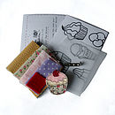 Leather Brooch Craft Kit